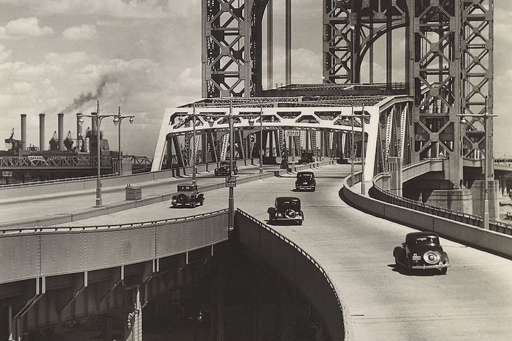 »Triborough Bridge [East 125th Street Approach]«, 1937 © Getty Images/Berenice Abbott, 2020