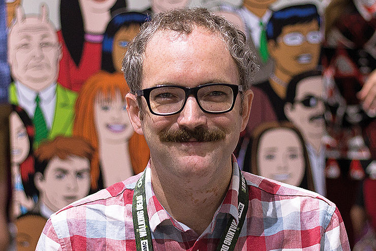Ein Sympath und sein Unsympath: Noah van Sciver, Foto: Chris Anthony Diaz