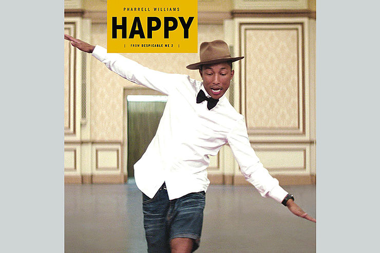 Pharrell Williams:  »Happy«