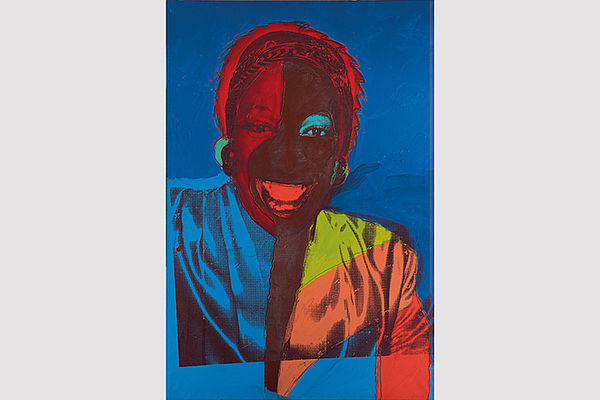 Ladies and Gentlemen (Wilhelmina Ross), 1975 © 2020 The Andy Warhol Foundation for the Visual Arts, Inc. Licensed by Artists Rights Society (ARS), New York; Foto: Patrick Goetelen, © Tate, London