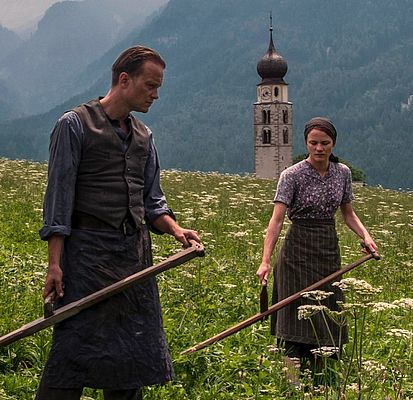 "August Diehl und Valerie Pachner in Terrence Malicks ""A Hidden Life"""