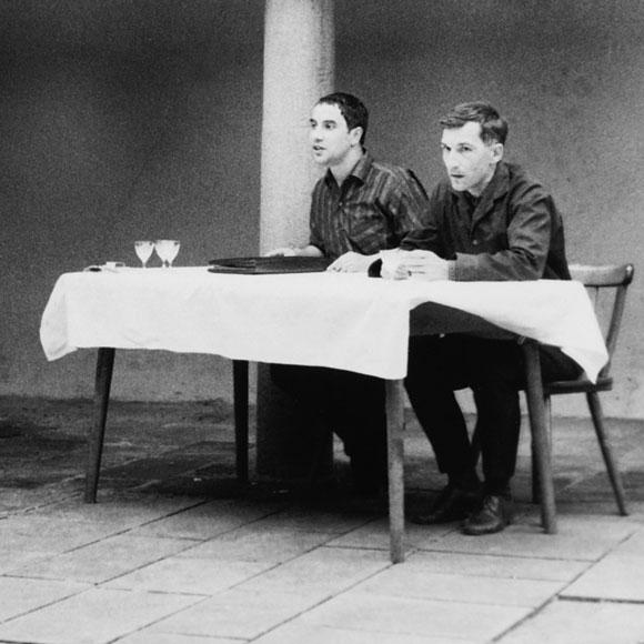 Dieter Wellershoff und Rolf Dieter Brinkmann 1964